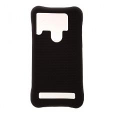 Накладка силиконовая универсальная 5,0-5,5 дюймов (с отверствием для камеры), черный