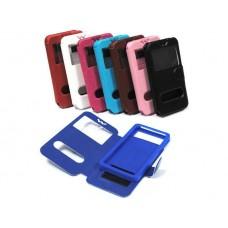 Универсальный чехол-подставка слайдер с магнитной застежкой 3.8-4.3 дюймов синий