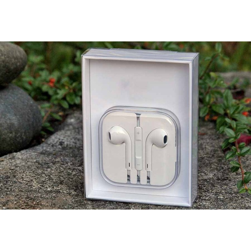 Наушники для Iphone 5 оригинал c микрофонам AAAA в коробке