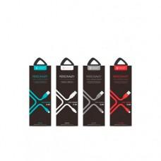 USB кабель Celebrate CB-02i для iPhone 5/6/7/8/X, серый