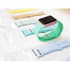 Ремешок для Apple Watch 42mm, оливково зеленый в техпаке