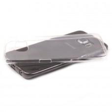 Накладка силиконовая Brauffen тонкая (отверстие для камеры под размер камеры) для iPhone 11 Pro, прозрачно-черный