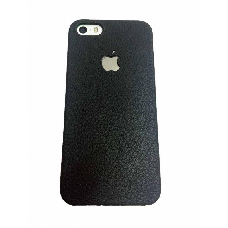 Накладка силиконовая Brauffen под кожу для iPhone 7 Plus, черный