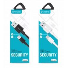 USB кабель Celebrate CB-09I для iPhone 5/6/7/8/X, черный
