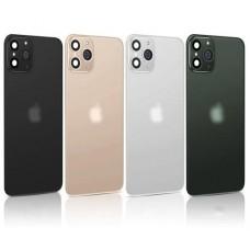 Наклейка на заднюю панель для iPhone X/XS (с имитацией камеры под iPhone 11), черный