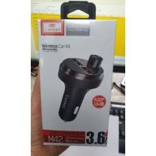 ФМ модулятор (USB, microSD, Bluetooth) Earldom ET-M42