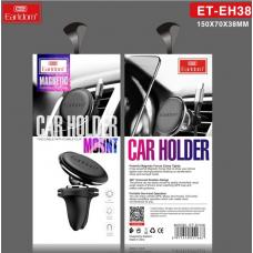 Держатель автомобильный Earldom ET-EH38 c крепление на решетку воздуховода, черный