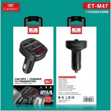 ФМ модулятор (USB, microSD, Bluetooth) Earldom ET-M47