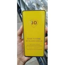 Стекло защитное 9D (полностью на клею) для Xiaomi Redmi 7a, черный