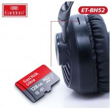 Наушники Earldom ET-BH52 Bluetooth полноразмерные, черный
