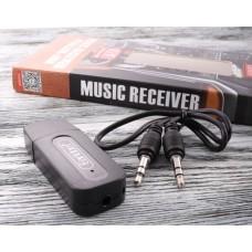 Ресивер Bluetooth для музыки Earldom ET-M22, (3,5mm и USB выход), черный