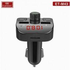 ФМ модулятор (USB, microSD, Bluetooth) Earldom ET-M43