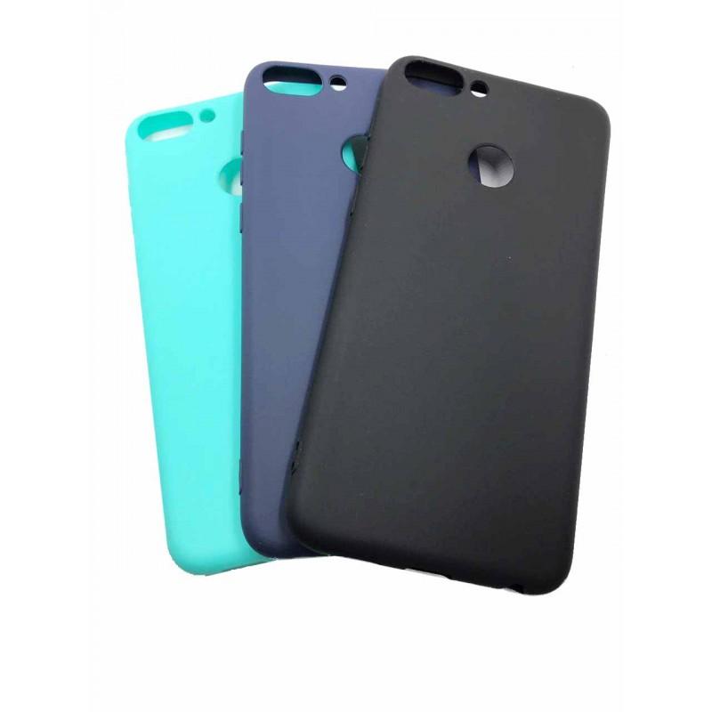 Накладка силиконовая матовая для Huawei P smart Z, черный