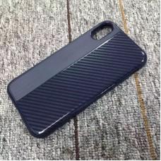 Накладка силиконовая Brauffen карбон комбинированный для Xiaomi Redmi 5A, синий